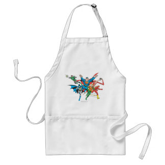 Justice League of America Group 4 Adult Apron