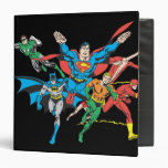 Justice League of America Group 4 Binder
