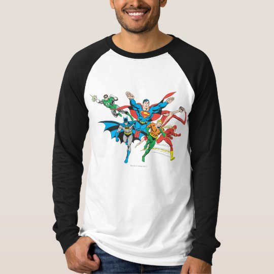 Justice League of America Group 4 T-Shirt