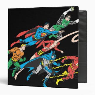Justice League of America Group 5 Vinyl Binders