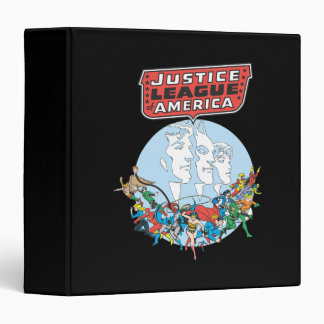 Justice League of America Group Vinyl Binder