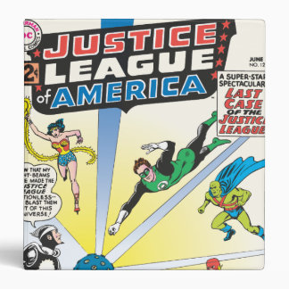 Justice League of America Issue 12 - June 3 Ring Binders