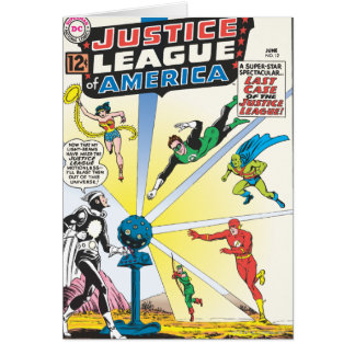 Justice League of America Issue #12 - June Card