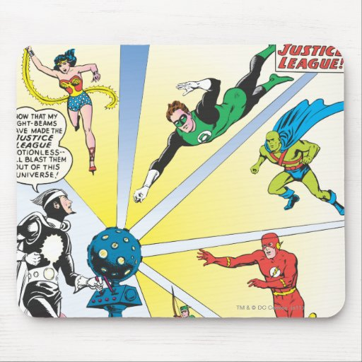 Justice League of America Issue #12 - June Mousepads