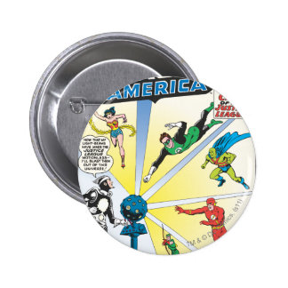 Justice League of America Issue #12 - June Pinback Button