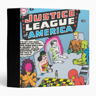 Justice League of America Issue 1 - Nov 3 Ring Binder