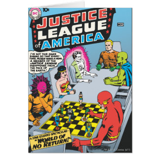 Justice League of America Issue #1 - Nov Card