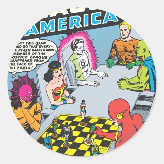 Justice League of America Issue #1 - Nov Classic Round Sticker