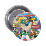 Justice League of America Issue #21 - Aug Pinback Buttons