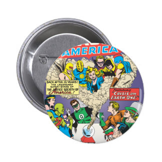 Justice League of America Issue #21 - Aug Button