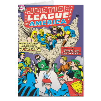 Justice League of America Issue #21 - Aug Card