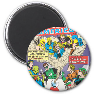 Justice League of America Issue #21 - Aug Refrigerator Magnets