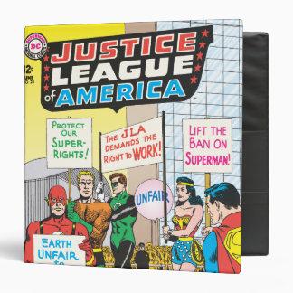 Justice League of America Issue 28 - June Vinyl Binders