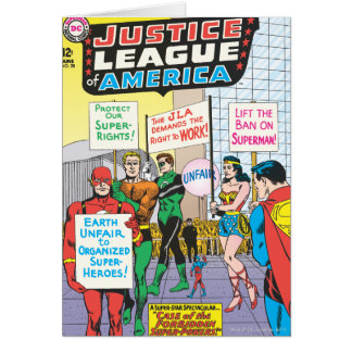 Justice League of America Issue #28 - June Card