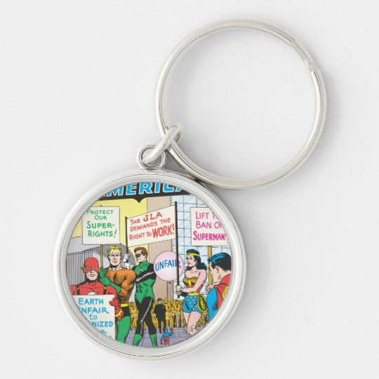 Justice League of America Issue #28 - June Keychain