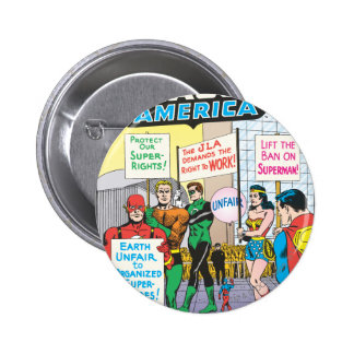 Justice League of America Issue #28 - June Pinback Button