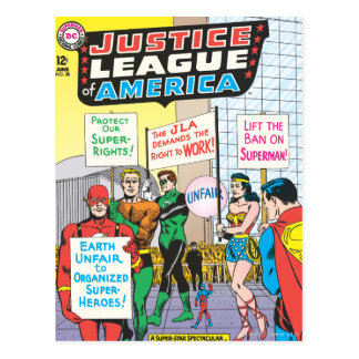 Justice League of America Issue #28 - June Postcard