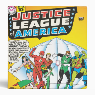 Justice League of America Issue #4 - May Binder