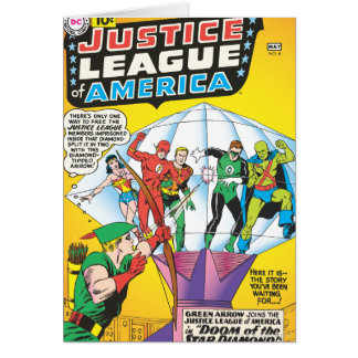 Justice League of America Issue 4 - May Card