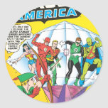 Justice League of America Issue #4 - May Classic Round Sticker