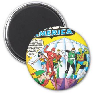 Justice League of America Issue #4 - May Magnet