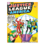 Justice League of America Issue #4 - May Post Card