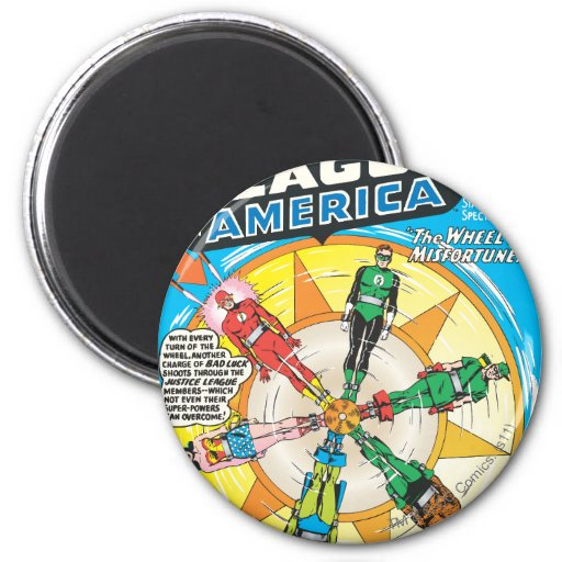 Justice League of America Issue #6 - Sept Refrigerator Magnet