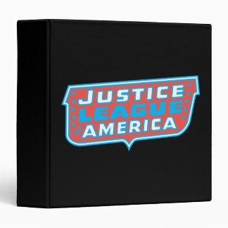 Justice League of America Logo 3 Ring Binders