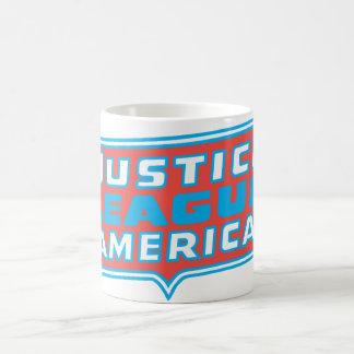 Justice League of America Logo Coffee Mug