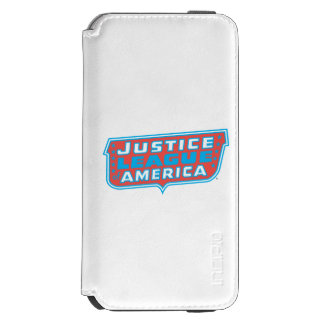 Justice League of America Logo iPhone 6/6s Wallet Case