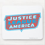 Justice League of America Logo Mouse Pad