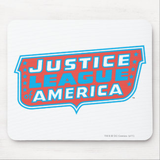 Justice League of America Logo Mousepad