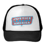 Justice League of America Logo Trucker Hat