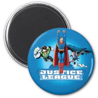 Justice League Power Trio Magnet