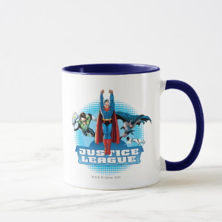 Justice League Power Trio Mug