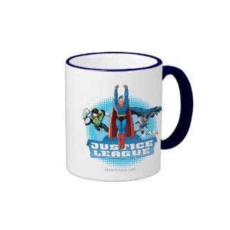Justice League Power Trio Coffee Mugs