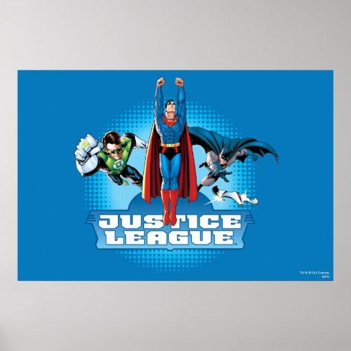 Justice League Power Trio Poster