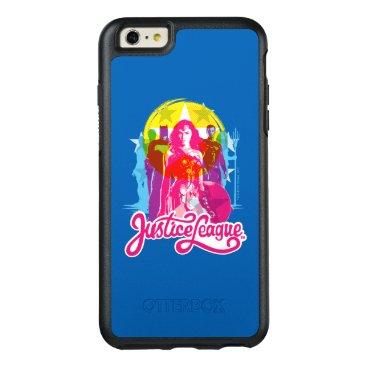 Justice League | Retro Group & Logo Pop Art OtterBox iPhone 6/6s Plus Case
