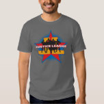 Justice League Silhouettes and Star Background T Shirt