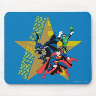 Justice League Star Heroes Mouse Pad