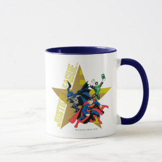 Justice League Star Heroes Mug