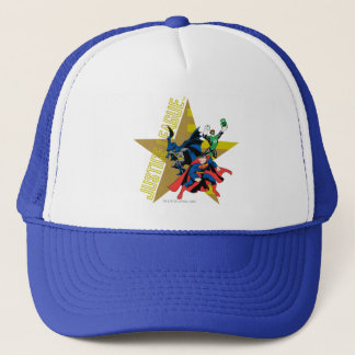 Justice League Star Heroes Trucker Hat