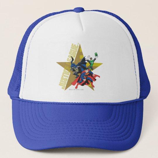 Justice League Star Heroes Trucker Hat