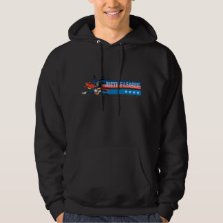 Justice League Stars and Stripes Hoodie