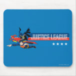 Justice League Stars and Stripes Mouse Pad