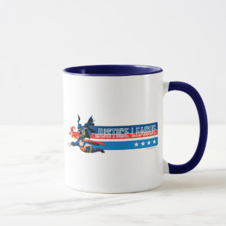 Justice League Stars and Stripes Mug