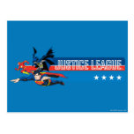 Justice League Stars and Stripes Postcards