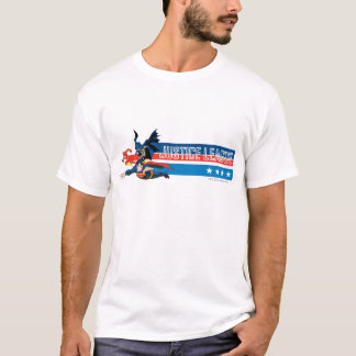 Justice League Stars and Stripes T-Shirt