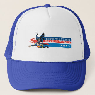 Justice League Stars and Stripes Trucker Hat