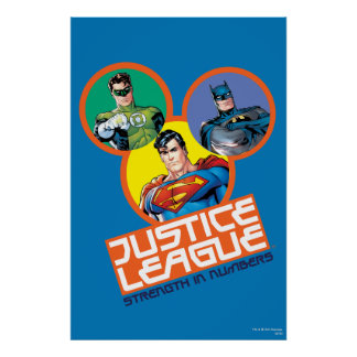 "Justice League ""Strength in Numbers"" Poster"